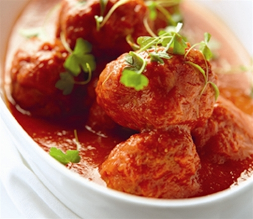 30 Minute Meal: Turkey Meatballs With Marinara